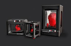 Some of the Maker Bot dometic 3D printer models available today